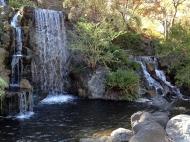 Mayberg waterfall