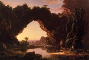 Evening in Arcadia by Thomas Cole