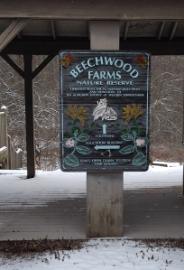 Beechwood Farm sign