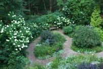 Garden in late July